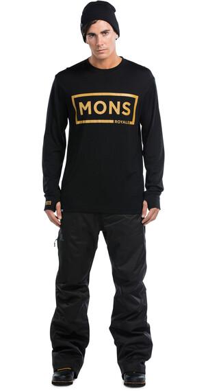 Mons Royale M's Original LS Black